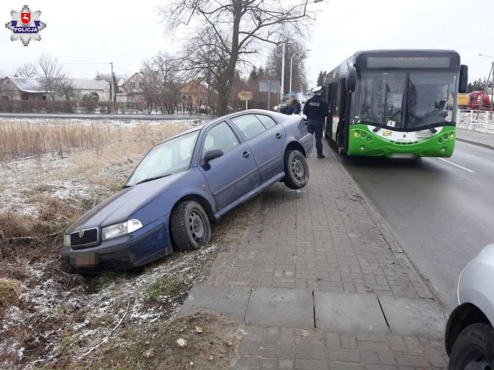 Kolizja Autobusu